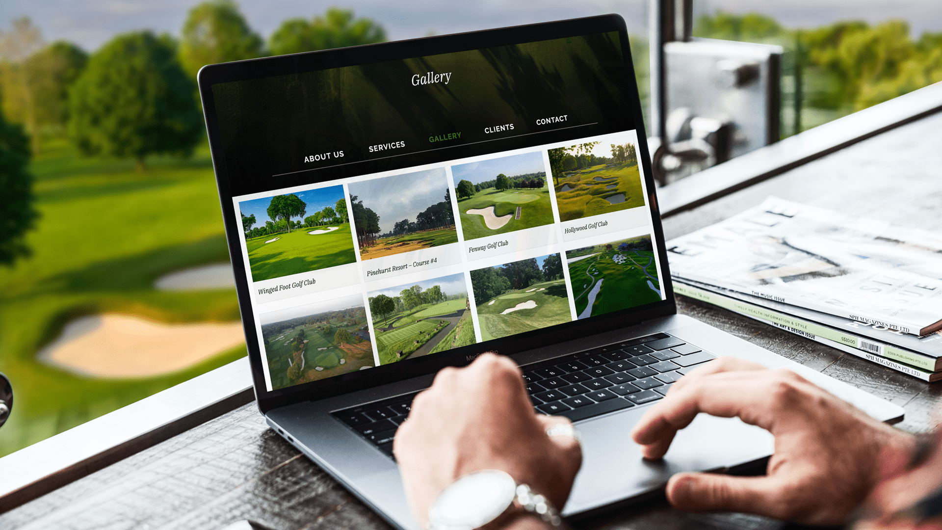 LaBar Golf Renovations NJ Responsive Website Design