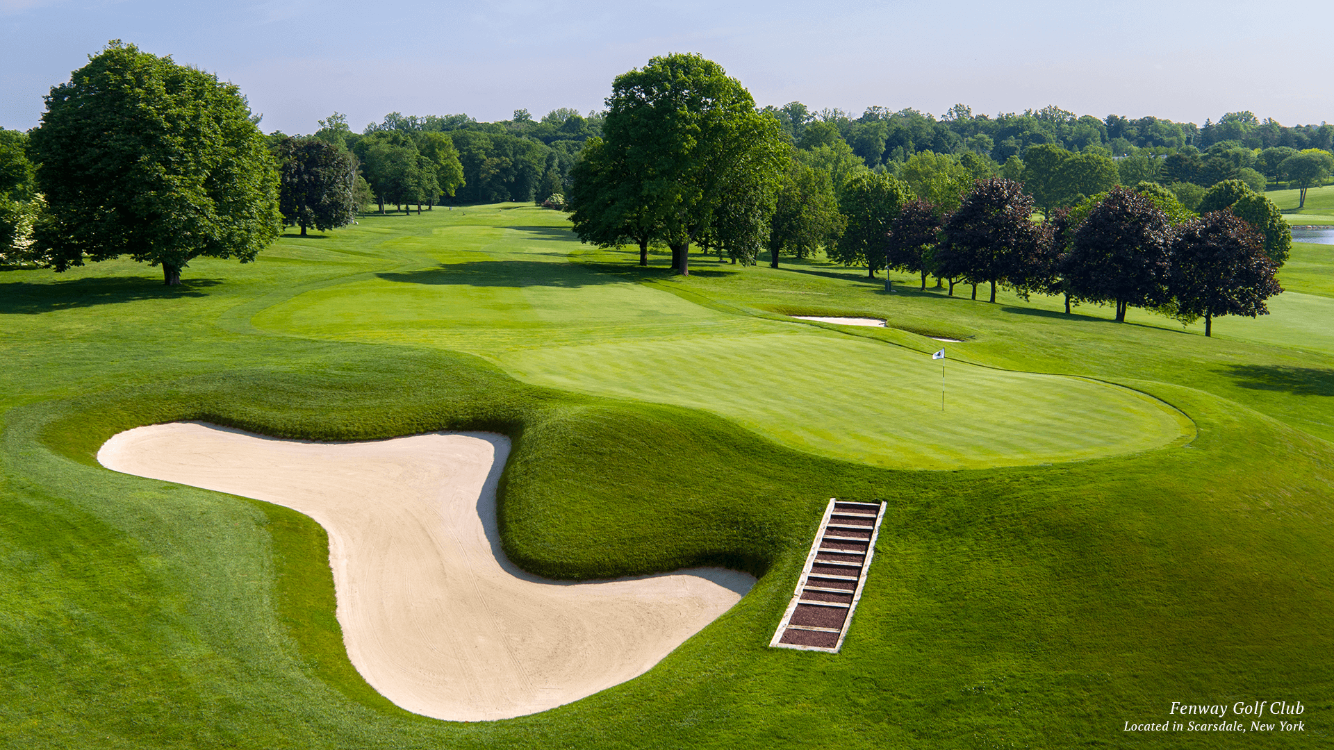 Fenway Gold Course in Scarsdale New York Website Design NJ