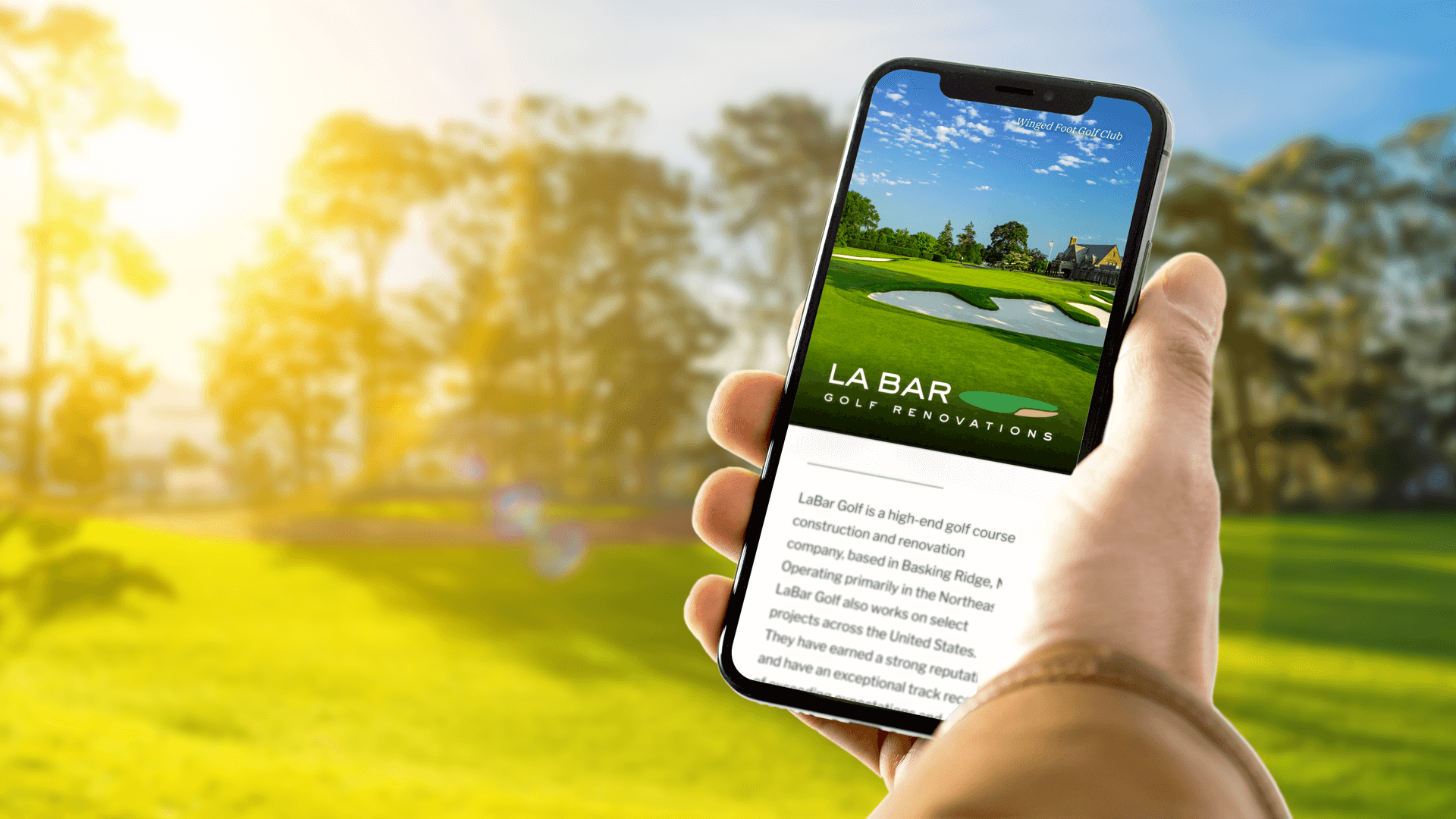 LaBar Gold Mobile Website Responsive Design