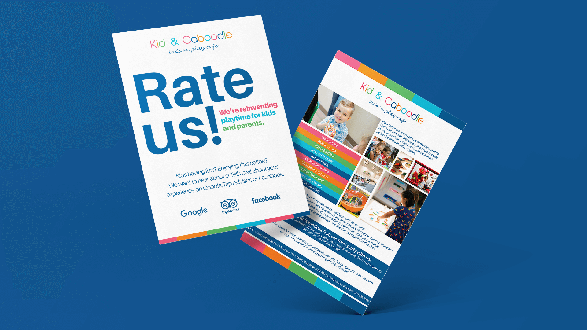 Flyer Print Design Kid and Caboodle Morristown NJ