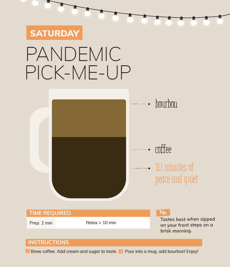 coffee pandemic pick-me-up  quarantine cocktail