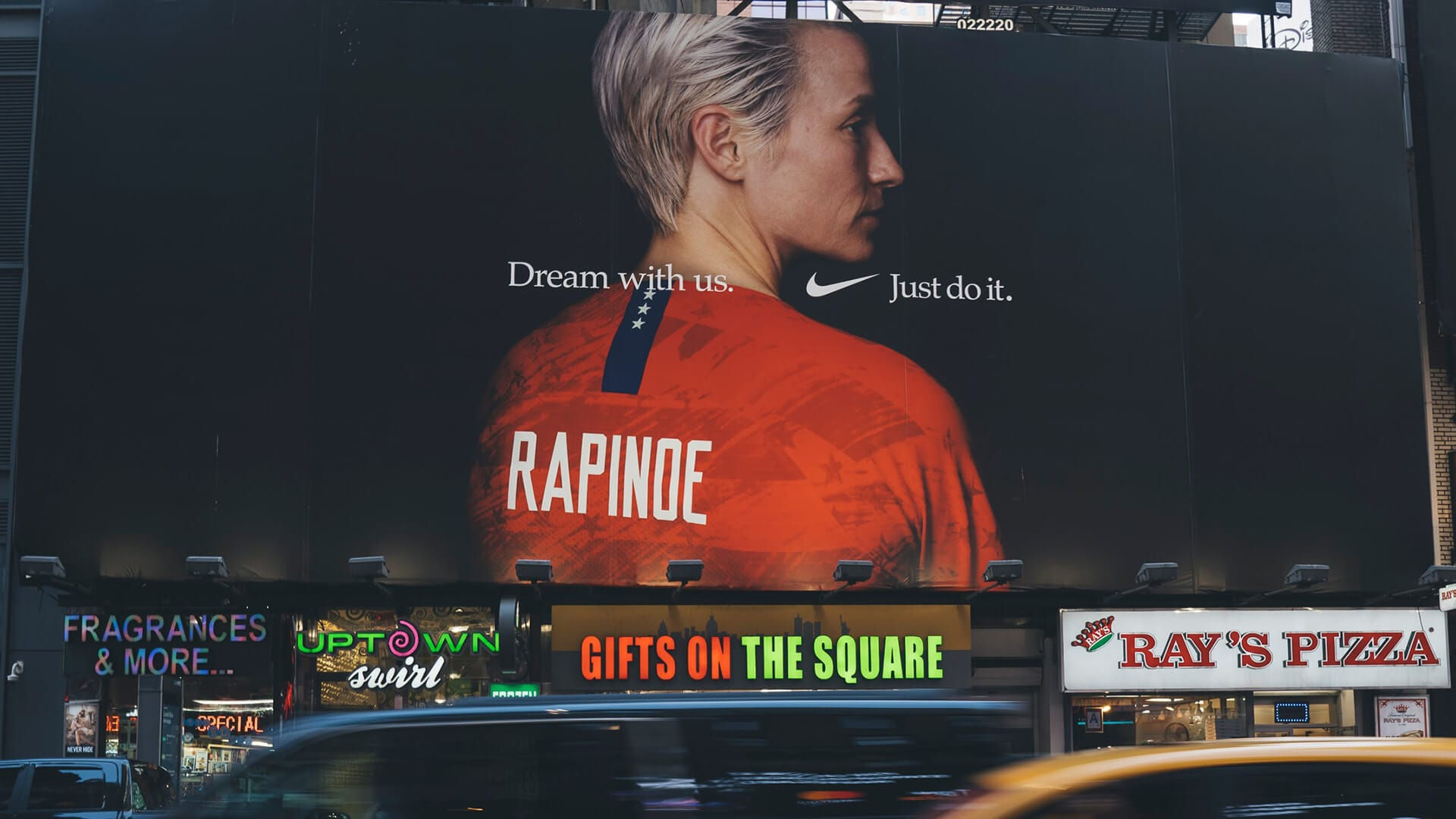 5 ways to ensure your billboard works emotional nike ad in times square