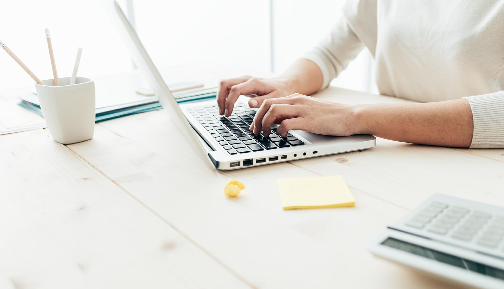 brand strategy blog writing woman